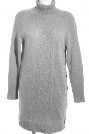J.crew Strickpullover grau Zopfmuster Casual-Look