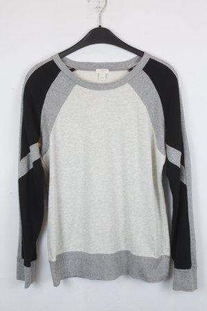 J.Crew Sweatshirt Sweater Gr. S gemustert