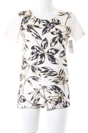 J.crew T-Shirt Blumenmuster schlichter Stil