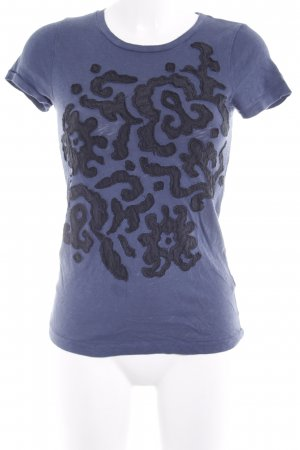 J.crew T-Shirt dunkelblau-schwarz Casual-Look