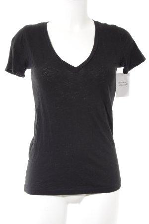 J.crew T-Shirt schwarz Casual-Look