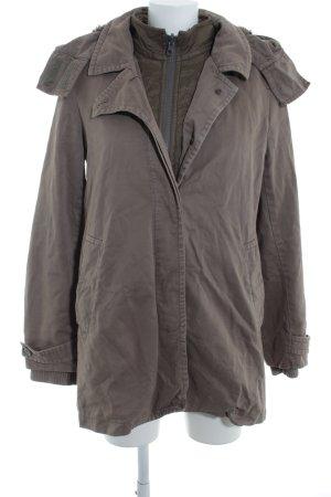 J.crew Winterjacke khaki-grau Street-Fashion-Look