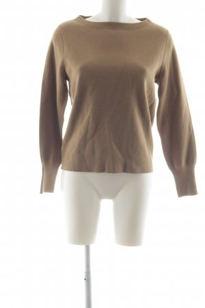 J.crew Wollpullover camel Casual-Look