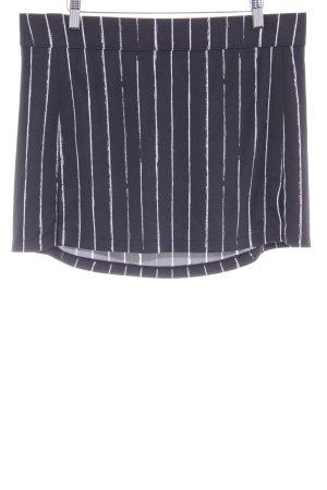 J.lindeberg Minirock schwarz-weiß Streifenmuster schlichter Stil