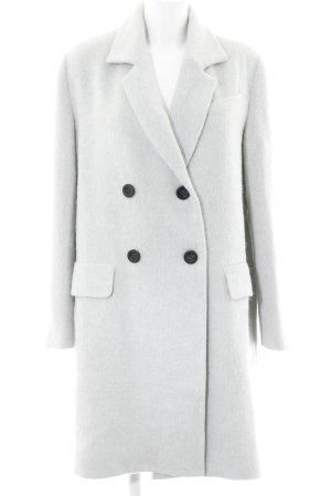 J.O.A Manteau d'hiver gris clair élégant