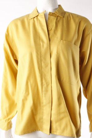 J.P.Jones Vintage-Hemdbluse gelb