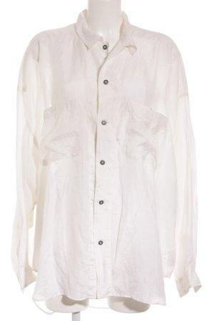 J.TAVERNITI Diffusion Oversized Bluse hellbeige Elegant