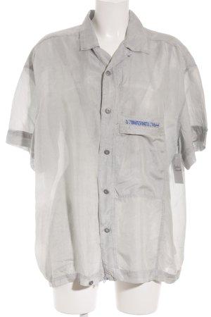 J.TAVERNITI Oversized blouse lichtblauw casual uitstraling