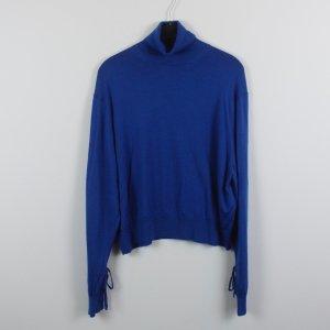 J.w.anderson Pull-over à col roulé bleu laine