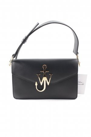 "J.w.anderson Carry Bag ""Logo Purse With Chain Black"""