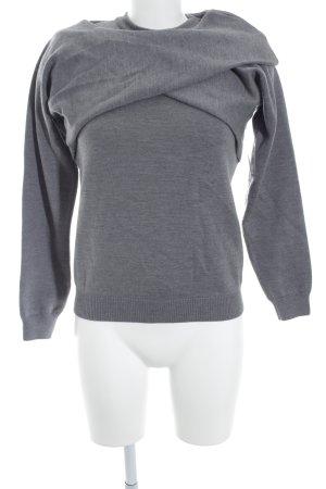 J.w.anderson Rundhalspullover grau Street-Fashion-Look