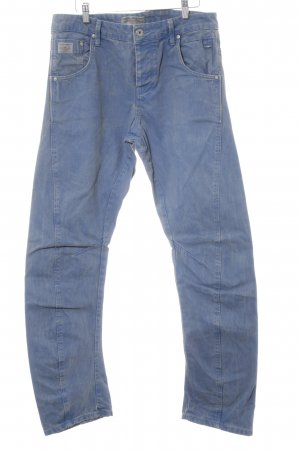Jack & Jones Boyfriendjeans blau Used-Optik
