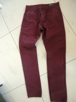 Jack & Jones dunkelrote Jeans in Gr, M