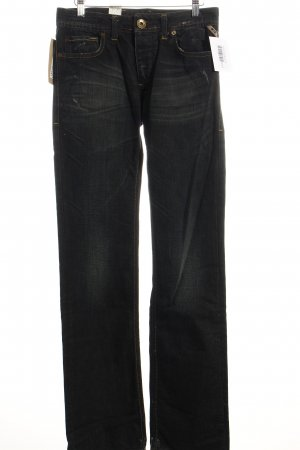 Jack & Jones Straight-Leg Jeans dunkelblau Street-Fashion-Look
