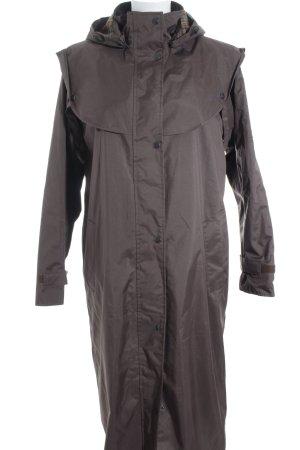 Jack Murphy Abrigo con capucha marrón oscuro look casual
