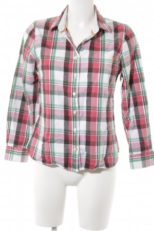 Jack Wills Karobluse Karomuster Casual-Look