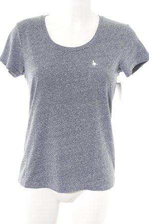 Jack Wills T-Shirt graublau meliert Casual-Look