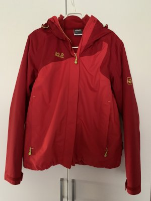 Jack Wolfskin Outdoor Jacket red-meadow green