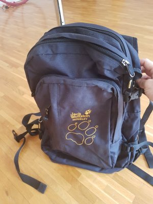 Jack Wolfskin Backpack black-yellow