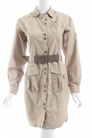 Jack Wolfskin Blusenkleid beige Street-Fashion-Look