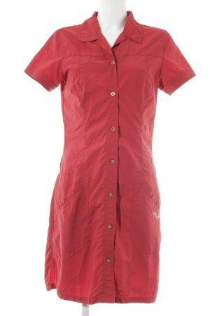 Jack Wolfskin Blusenkleid rot sportlicher Stil