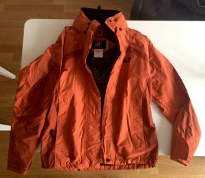 Jack Wolfskin Windbreaker dark orange-russet