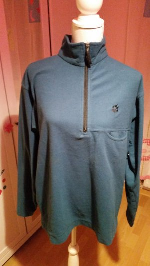 Jack Wolfskin Pullover in pile turchese
