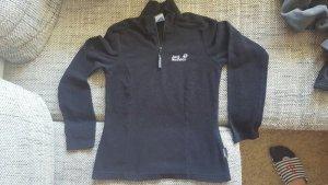 Jack Wolfskin Fleece Pullover schwarz XS