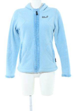 Jack Wolfskin Fleece Jackets blue casual look