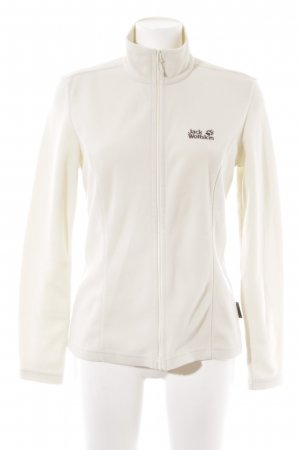Jack Wolfskin Giacca in pile crema stile casual