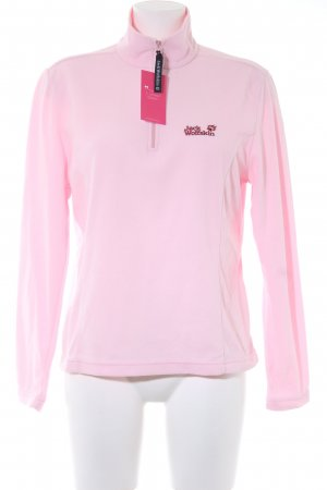 Jack Wolfskin Giacca in pile rosa chiaro stile casual