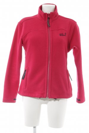 Jack Wolfskin Fleece Jackets raspberry-red athletic style