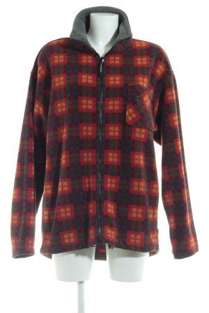 Jack Wolfskin Fleece Jackets check pattern casual look