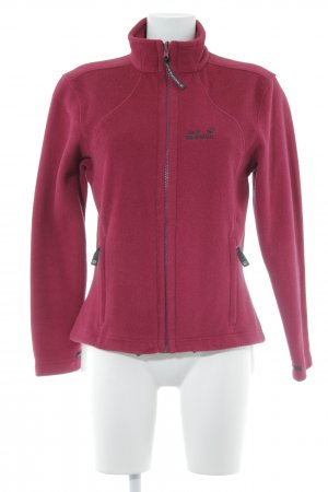 Jack Wolfskin Giacca in pile magenta stile casual