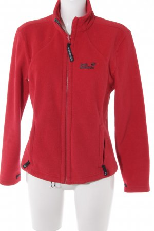 Jack Wolfskin Fleece Jackets red casual look