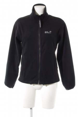 Jack Wolfskin Fleecejacke schwarz Street-Fashion-Look