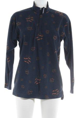 Jack Wolfskin Fleecepullover Animalmuster Street-Fashion-Look