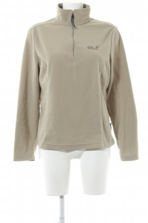 Jack Wolfskin Pullover in pile beige stile casual