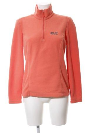 Jack Wolfskin Fleece Jumper light orange casual look