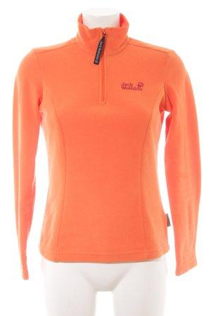 Jack Wolfskin Fleecepullover orange Casual-Look