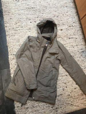 Jack Wolfskin Outdoor Jacket grey brown-green grey