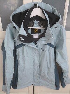 huge discount 1b8b8 817ca Jack Wolfskin Jacke Gr.36/S Topaz Damen TOP! Texapore hellblau Storm