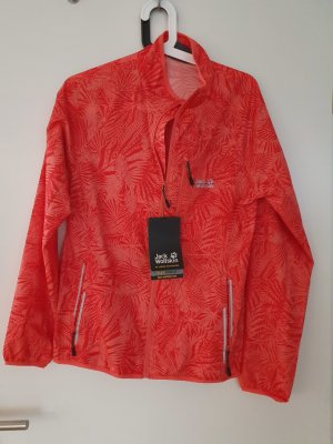 Jack Wolfskin Jacket bright red