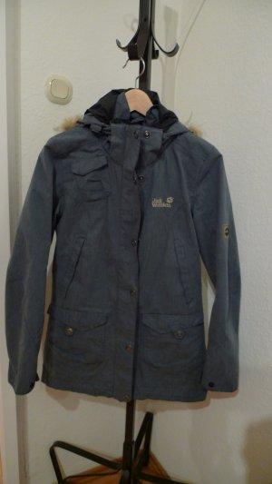 Jack Wolfskin Jacke (warme Fleece Jacke mit Reißverschluss integriert), Größe XS