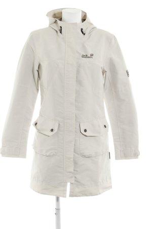 Jack Wolfskin Manteau à capuche beige clair style décontracté