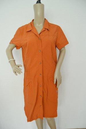Jack Wolfskin Dress dark orange-orange