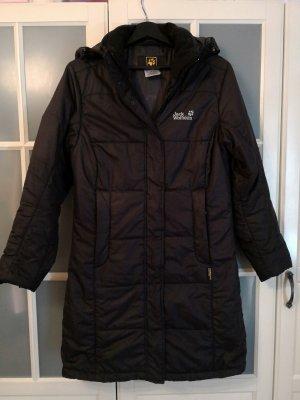 Jack Wolfskin Mantel Gr.S TOP!!! schwarz Dauenmantel Winter Iceguard Coat
