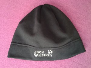 Jack Wolfskin Beanie black-silver-colored