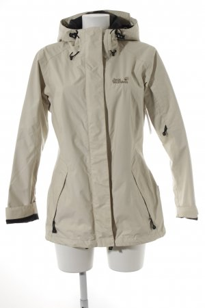 Jack Wolfskin Outdoorjacke creme Street-Fashion-Look