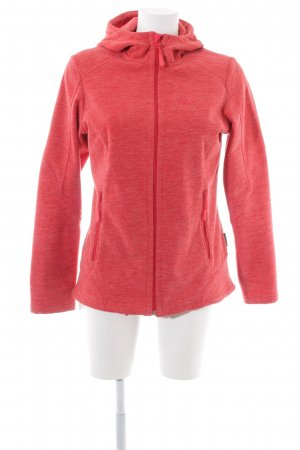 Jack Wolfskin Outdoor Jacket red flecked athletic style
